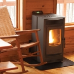 Castle 12327 Serenity Wood Pellet Stove Small