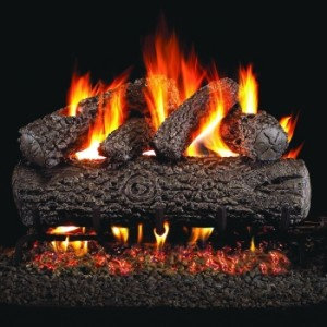 Peterson Real Fyre 18 Inch Post Oak Gas Logs-small